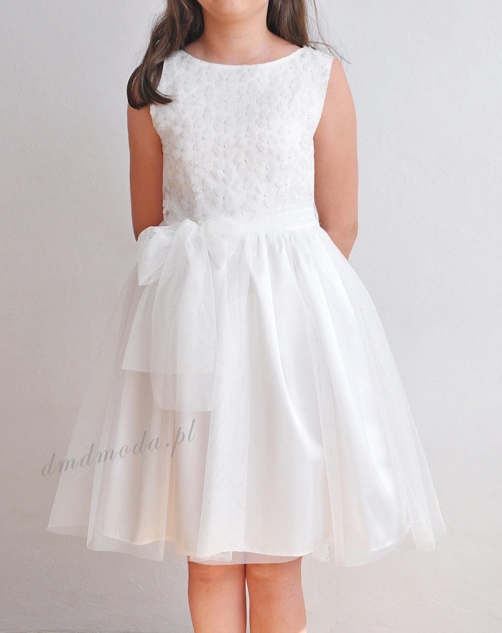 sukienka dla dziewczynki wesele komunia