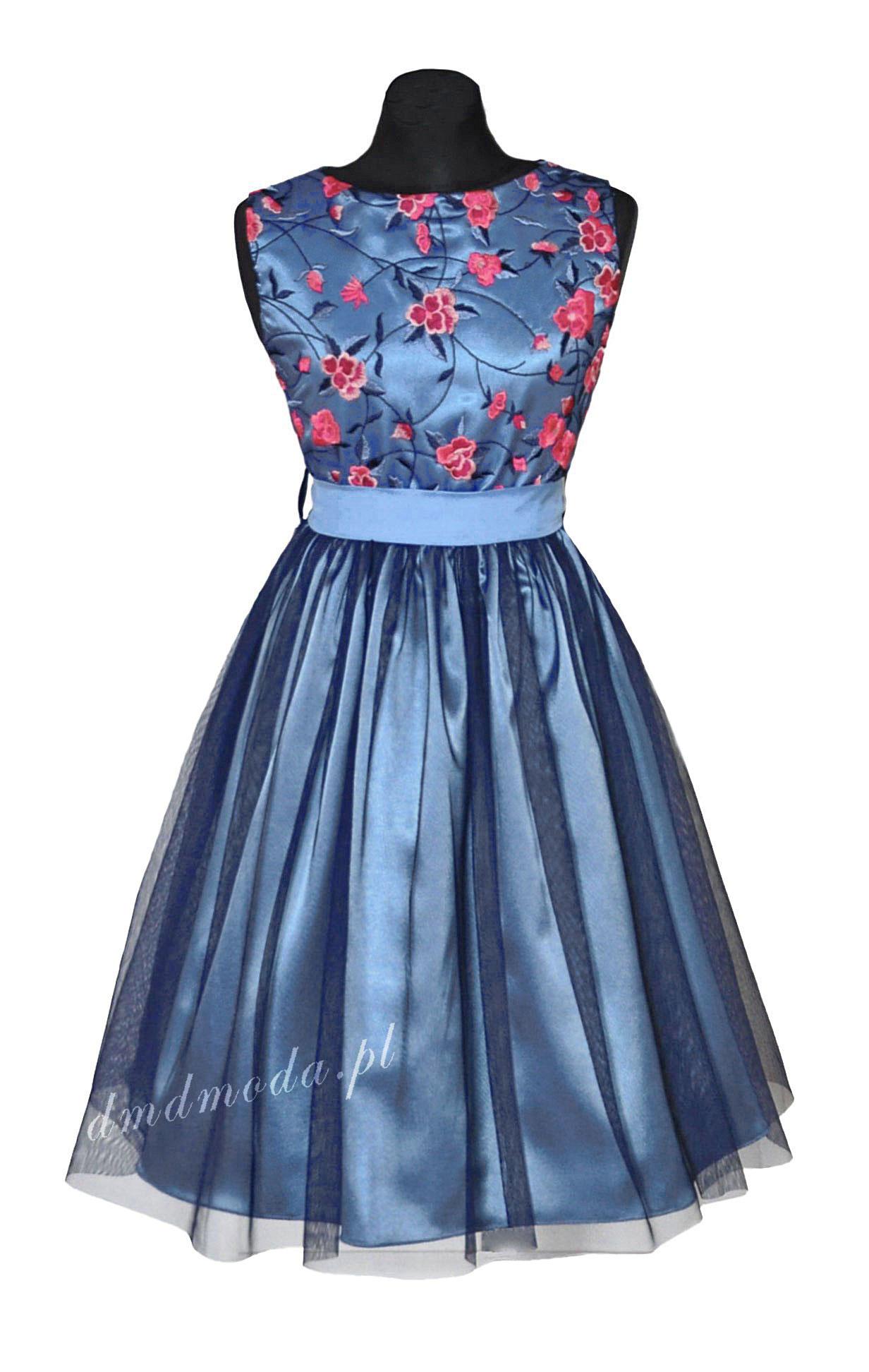 sukienka dla dziewczynki kiaty