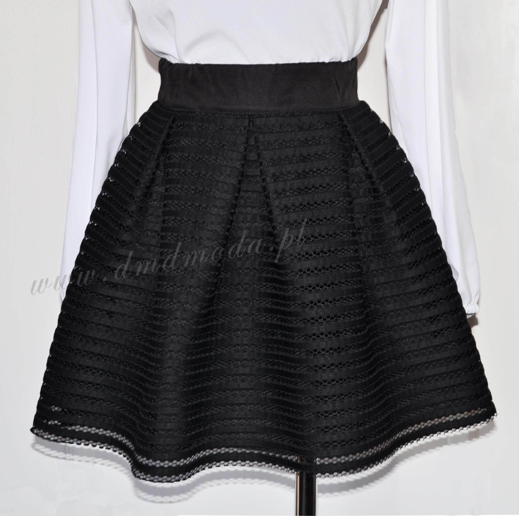 czarna spódnica dla dziewczynki