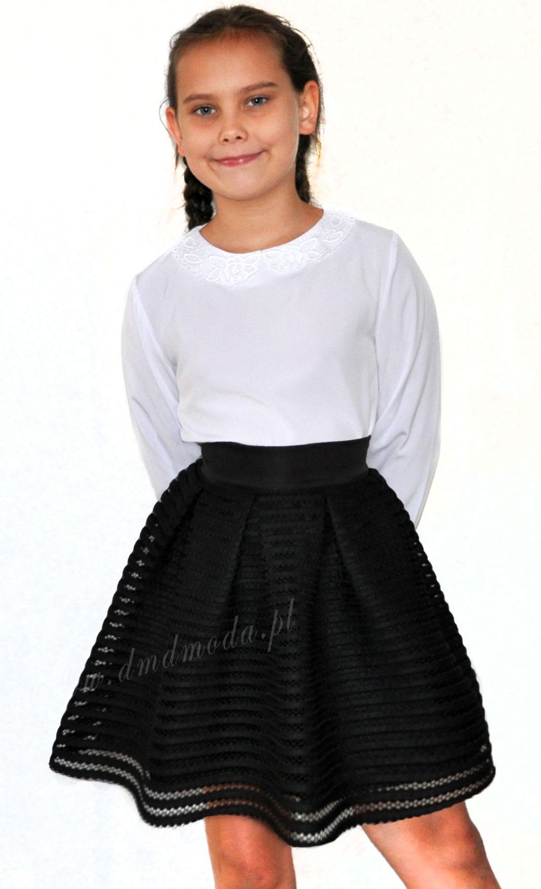 czarna spódniczka dla dziewczynki
