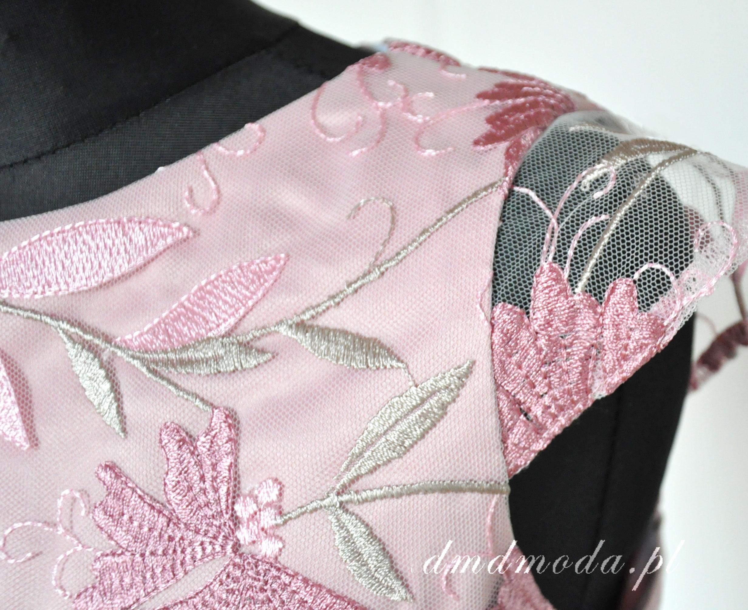 sukienka różowa dla dziewczynki