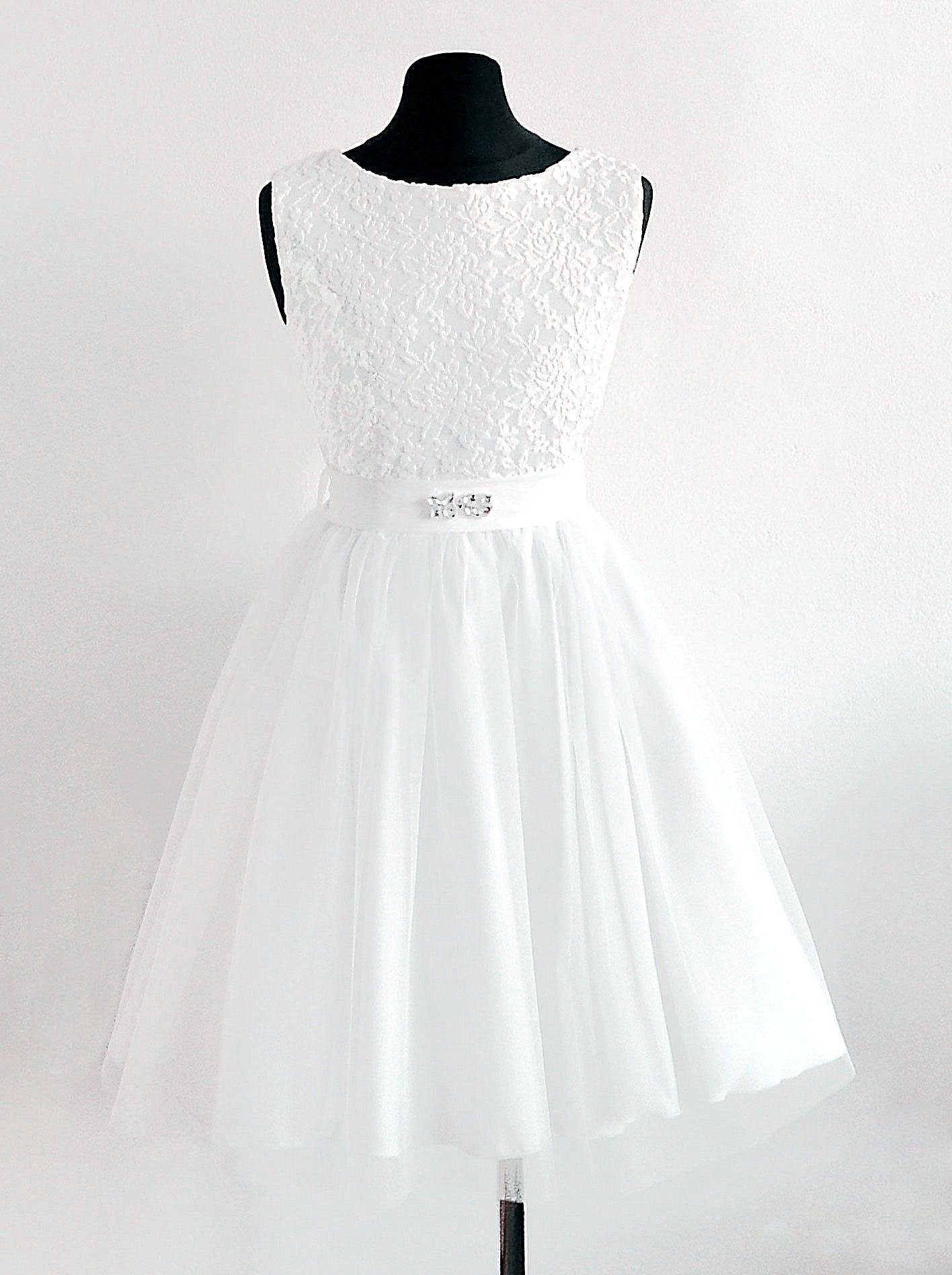 sukienka dla dziewczynki po komunii