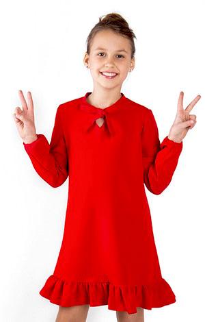 czerwona sukienka dla dziewczynki