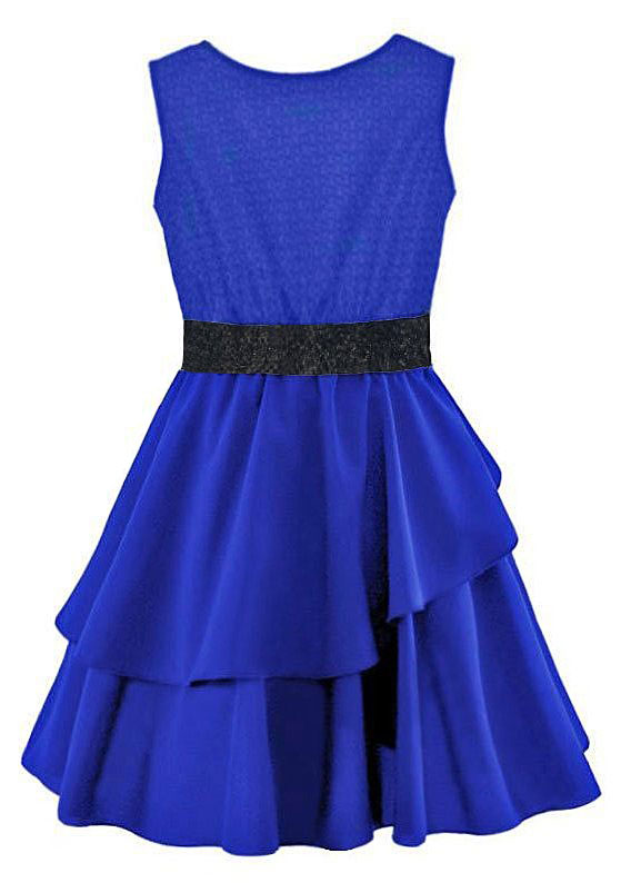 chabrowa sukienka dla dziewczynki